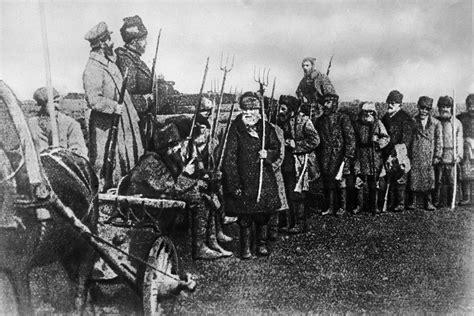 insurrections  shook soviet russia russia