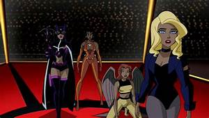 huntress and black canary justice league unlimited ...