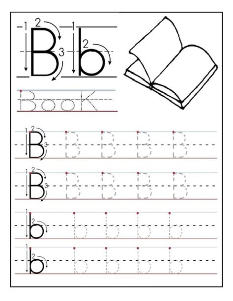 Free Printable Preschool Worksheets Age 4 And Alphabet Tracing Printables Best For Writing