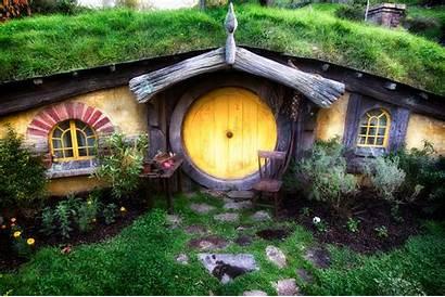 Hobbit Zealand Hobbits Houses Hobbiton Case Matti