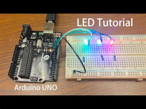 arduino tutorial led sequential control beginner project