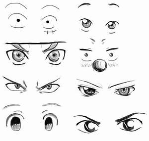 Anime Eyes Practice 1 by Drawdust on DeviantArt