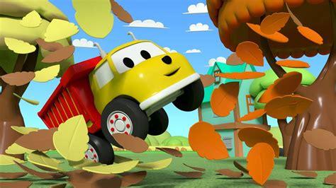 Happy Fall Falling Leaves Educational Cartoon For