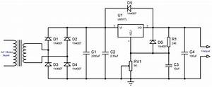 variable power supply using lm317 voltage regulator With an adjustable voltage regulator lm317 to design the charging circuit