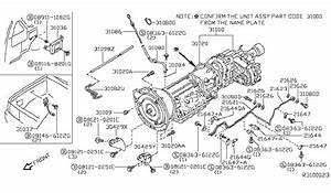 2001 Nissan Xterra Transmission Diagram
