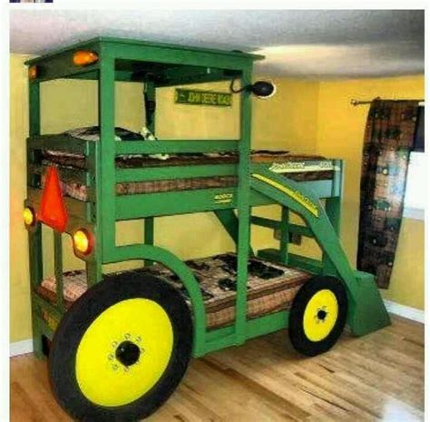 john deere bunk beds for the boys for the home