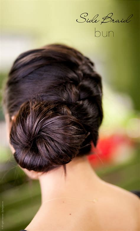 side braid bun hairstyles 29 elegant braided bun hairstyles hairstylo