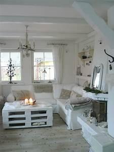 64, White, Living, Room, Ideas