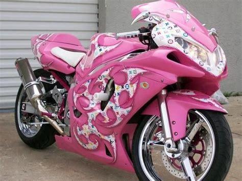 Louis Vuitton Pink Motorcycle