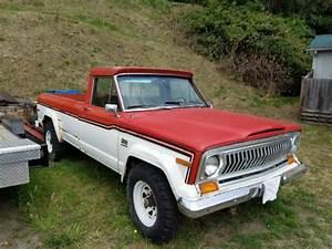 1977 Jeep J20 3  4 Ton 4x4 Quadra Trac 360 Amc  400 Trans