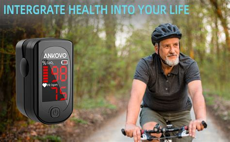 Amazon.com: Pulse Oximeter Fingertip, ANKOVO Blood Oxygen