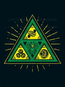 the triforce of hyrule tribal barrett biggers