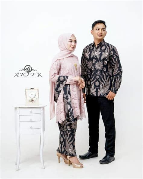 model baju batik couple remaja  modis