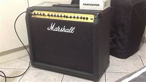 Marshall Valveste 8080 Made In Uk 80w Review  Portuguese