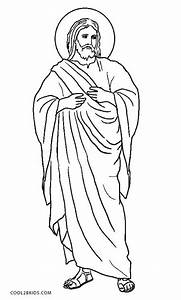 jesus with children coloring page - free printable jesus coloring pages for kids cool2bkids