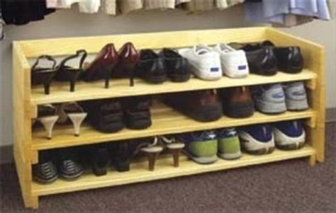 stackable shoe rack woodworking plan woodworkersworkshop  store