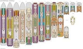carnival pride printable deck plans carnival cruise ship blueprints new punchaos