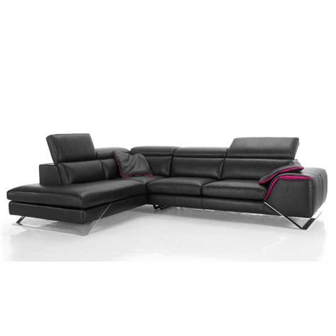 canap d angle 210 cm canapé d 39 angle avec grande méridienne cuir haut de gamme