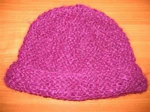 Modele De Tricotin Facile : modele tricot bonnet bebe point mousse ~ Melissatoandfro.com Idées de Décoration