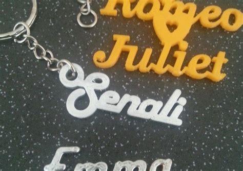 Personalised name tags, Key rings 3d printed   Buy one get