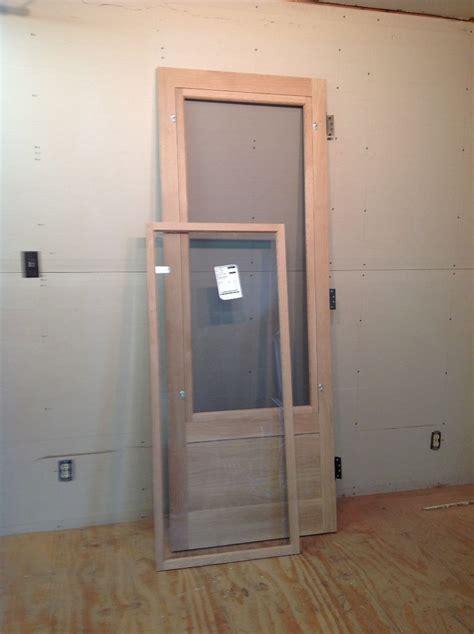 glass screen door wood custom and screen doors jim illingworth