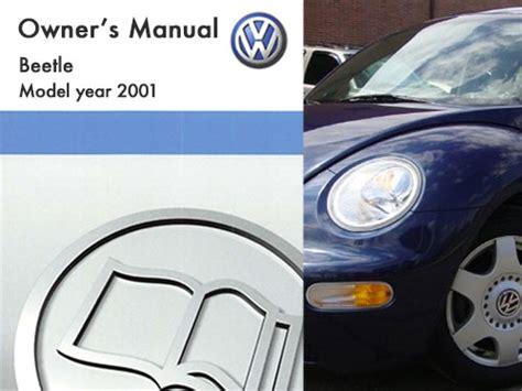 volkswagen beetle owners manual