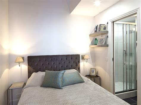 belles chambres à coucher relooking d 39 un petit appartement au coeur du marais
