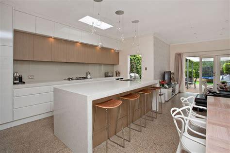 kitchen cabinet ikea white waterfall bench kitchen lakes 2550