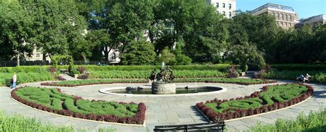 Central Park Garden by Conservatory Garden