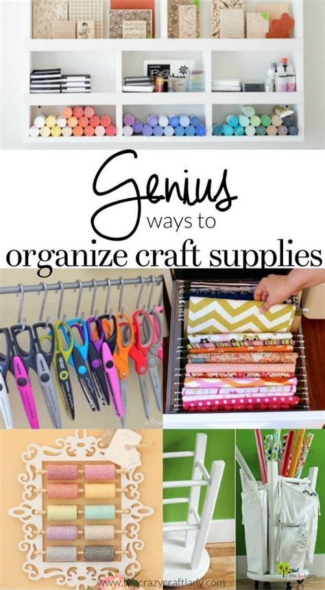 17 Best Ideas About Craft Room Organizing On Pinterest