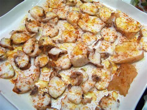 poulpe cuisine poulpe à la galicienne