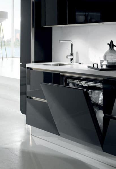 high gloss or semi gloss for kitchen cabinets high gloss kitchens white black kitchen units 9674
