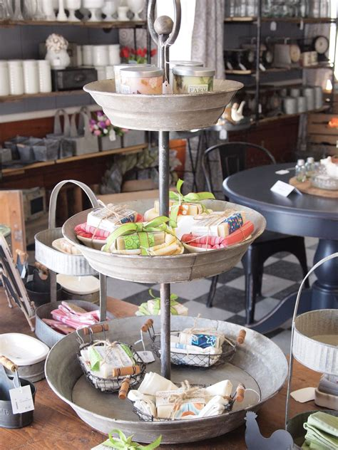 Alibaba.com offers 126,549 coffee bar set products. Galvanized Tiered Display Stand   Coffee shops interior, Coffee bar home, Display stand