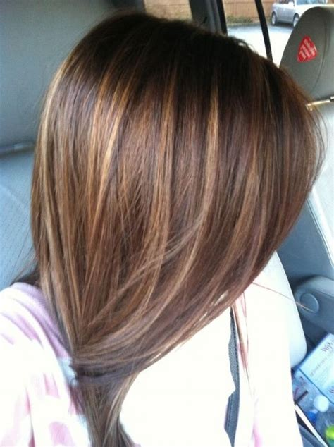 trending brown hair  lowlights ideas  pinterest