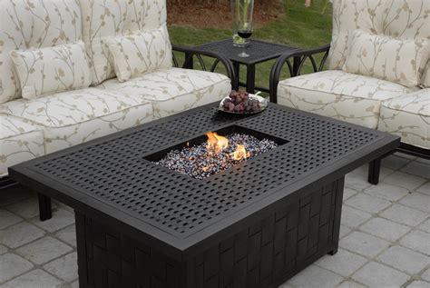 rectangular propane pit table goenoeng