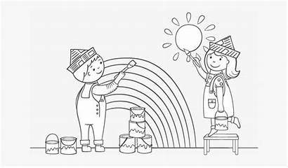 Coloring Painting Cartoon Printable Paint Inspirations Difficulty