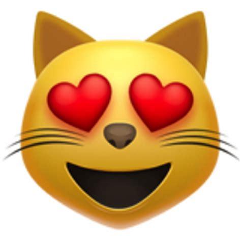 smiling cat face  heart eyes emoji ufb