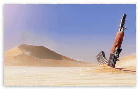 Gun Is Sand 4k Hd Desktop Wallpaper For 4k Ultra Hd Tv
