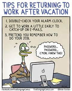 returning to work after maternity leave again back to work fowl language comics