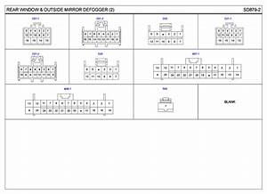 2007 Hyundai Entourage Wiring Diagrams