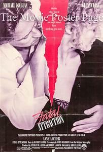 Fatal Attraction (1987) - (Glenn Close) US one-sheet, F ...