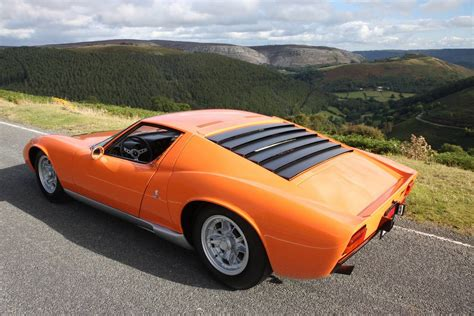"The ""italian Job"" Lamborghini Miura For Sale In The Uk"