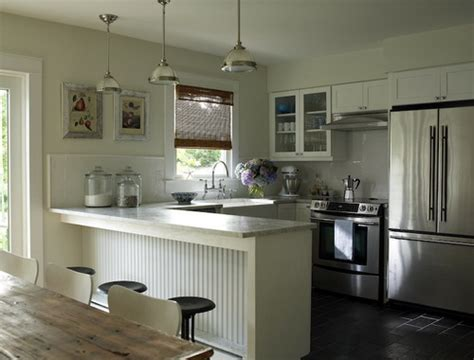 peninsula kitchen designs 10 steps trimming kitchen peninsulas with beadboard home 1458