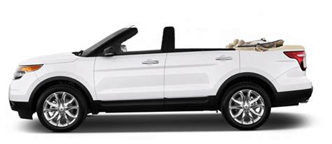 ford explorer convertible newport specialty cars