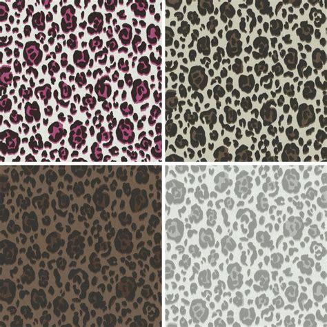 Animal Print Textured Wallpaper - new p s international leopard spot pattern animal print