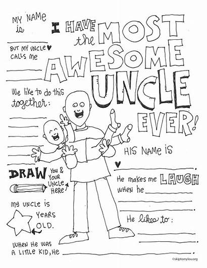 Uncle Coloring Awesome Skiptomylou Quotes Seuss Dr