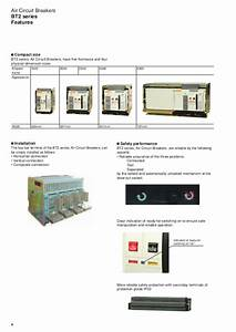 Air Circuit Breakers Bt2 Series