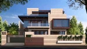 House Boundary Wall Design - YouTube