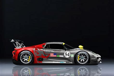 porsche 918 racing 13 year old kid renders porsche 918rsr gt1 perfectly