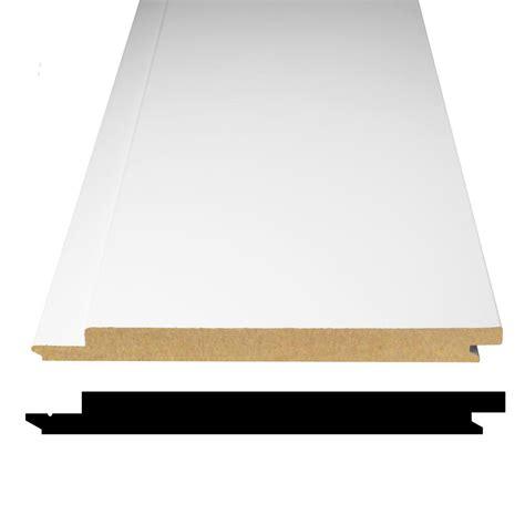 Shiplap Mdf Boards by Alexandria Moulding 1 2 In X 5 5 16 In X 96 In Primed